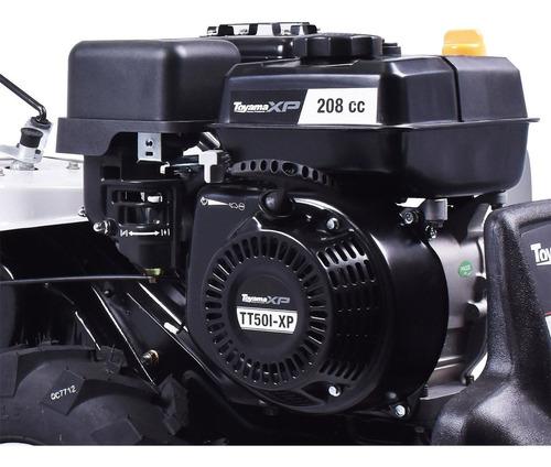 motocultivador 208cc a gasolina tt50i-xp toyama