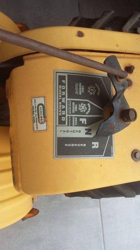 motocultivador cub cadet rt65