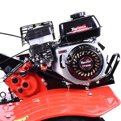motocultivador gasolina 6,5hp guidão reversível tt90r toyama