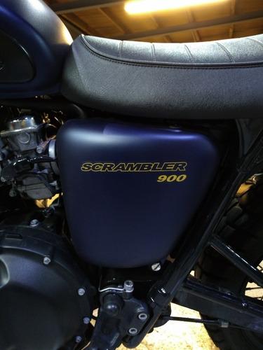 motofeel triumph scrambler (importada)