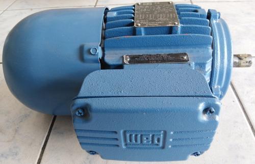 motofreno trifasico 1.5 hp 1800 rpm 220/380/440 ip550.80