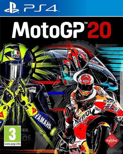 motogp 20 moto gp 20 ps4 playstation juego nuevo físico