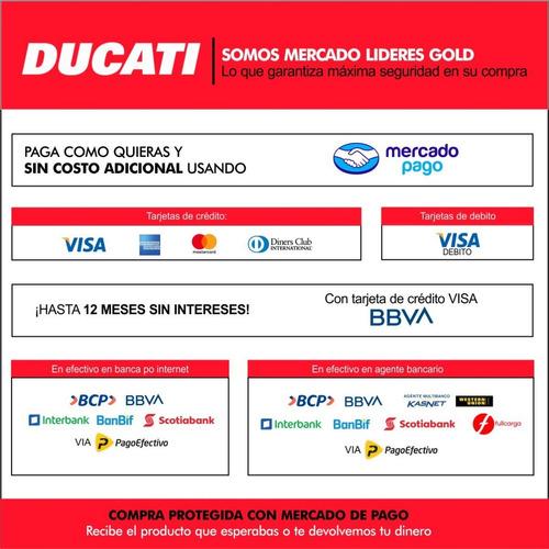 motoguadaña multicortadora ducati 4 en 1 1.2hp dbc3301m