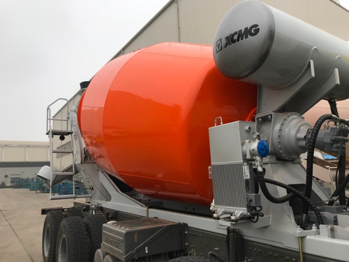 motohormigonera mixer trompo xcmg 8 m3