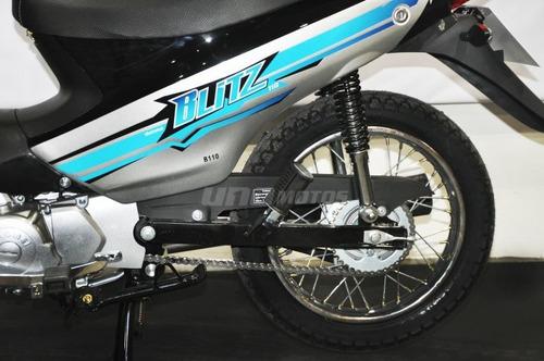 motomel blitz 110 base v8 0km blanco b6