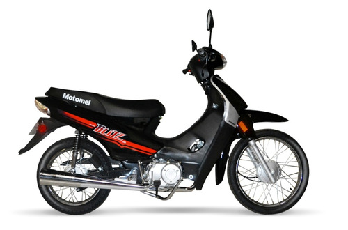 motomel blitz 110 - financiada 100% - bike up
