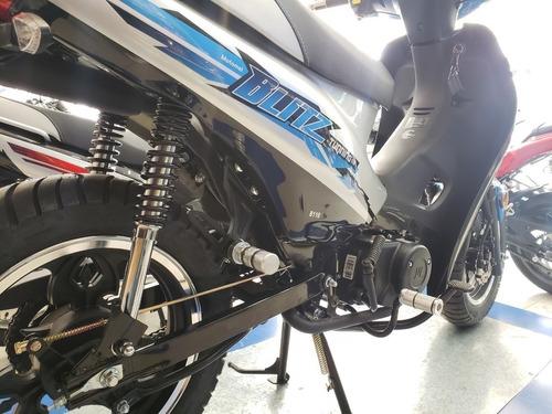 motomel blitz tunning 18 cuotas de $6.599 - k1000 motos