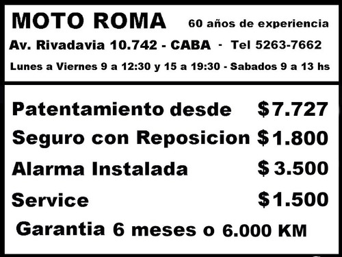 motomel cg 150 rayodisco 18ctas$4.518 (tipo rx150 200) mroma