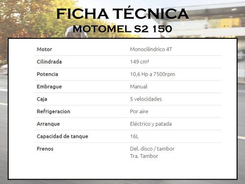 motomel cg s2 150cc 4 tiempos   2017 nuevo modelo