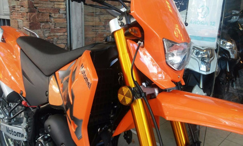 motomel cross xmm 250 2017  naranja disponibilidad inmediata