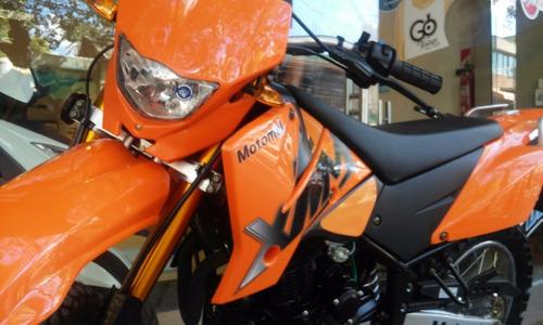 motomel crtoss xmm 250 2017 naranja disponibilidad inmediata