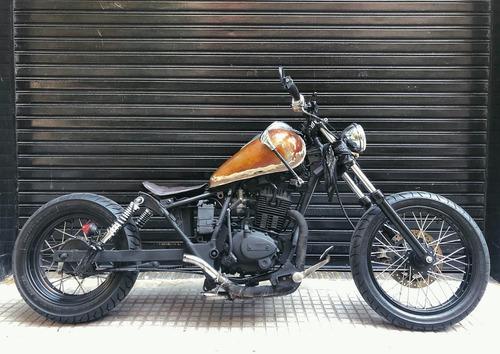 motomel custom 200 bobber