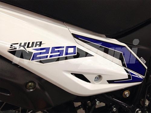 motomel enduro skua 250  motozuni m. grande