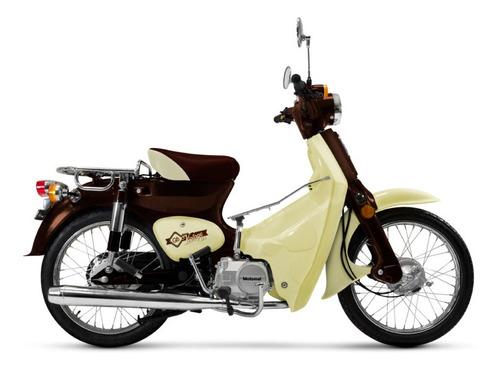 motomel go vintage 0km 2020 con casco - motos 32