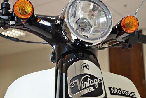 motomel go vintage 125cc - consultar precio