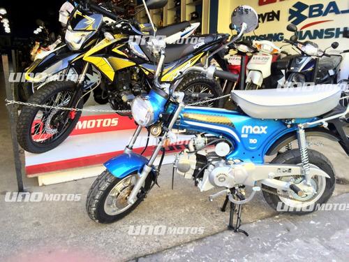 motomel max 110 0km 2018