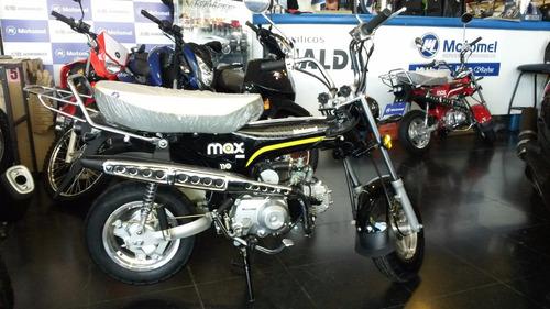 motomel max 110 con freno a disco, con detalles outlet
