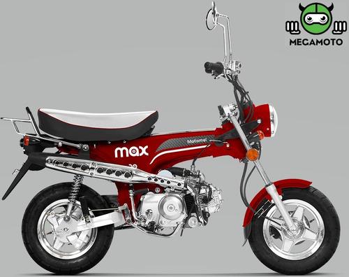 motomel max 110 tipo honda dax 110 megamoto