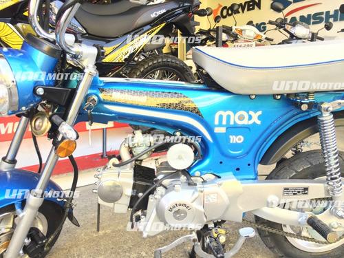 motomel max 110cc 0km cub unomotos
