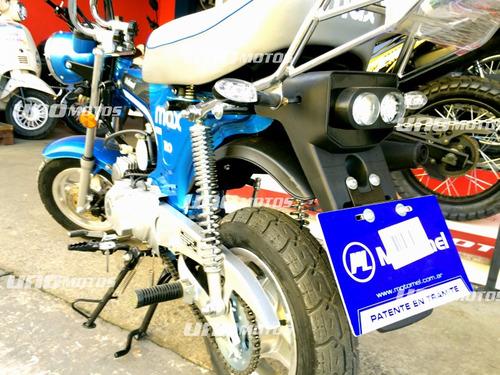 motomel max 110cc cub dax 2018