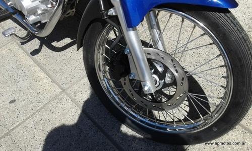 motomel s2 cg 150 azul 0km titan urban stratus ap motos