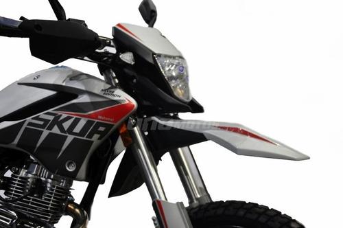 motomel skua 150 nueva edicion silver 2020 off road