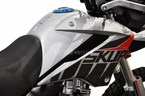 motomel skua 150 silver edition 2020 off road
