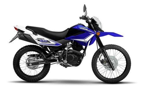 motomel skua 200 v6 - motos 32 0km 2020 - la plata