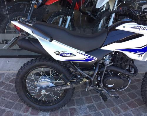 motomel skua 200 v6 nuevo modelo! 2017 0km