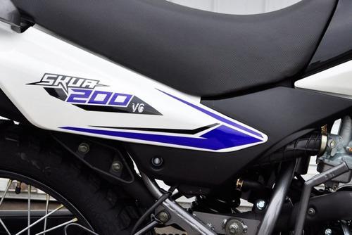 motomel skua 200cc - motozuni brandsen