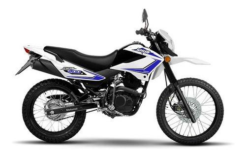 motomel skua 200cc - motozuni  m. grande