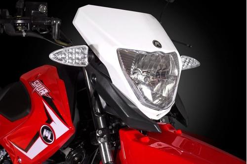motomel skua 250 v6 + alarma y casco - motos32 - la plata