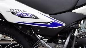 motomel skua v6 200 blanca 0km guerrero corven ap motos