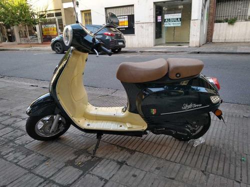 motomel strato euro 150 2017 5000km /kawacolor