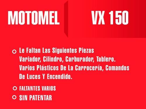 motomel vx 150 outlet-des int 17904 repuestos restaurar
