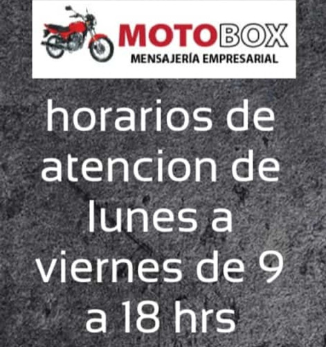 motomensajeria flex y mini fletes