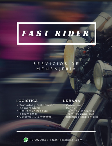 motomensajeria fr mensajeria mercado flex zona norte capital