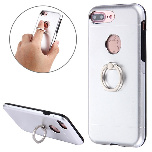 motomo para iphone plus 8 7 funda protectora metal tpu