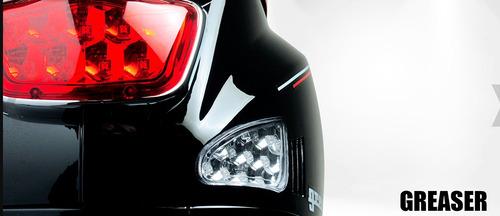 motoneta carabela greaser 150cc tipo vespa nuevo color