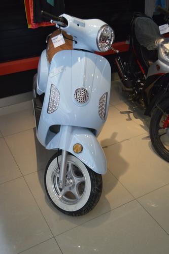 motoneta carabela greaser 150cc tipo vespa/ retro nueva