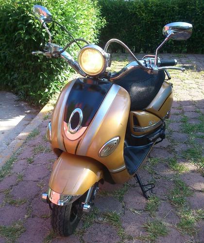 motoneta dinamo jessy-r scooter 2014 150cc color dorada