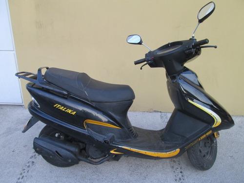 motoneta italika 2016 xs 125  !!! todo pagado