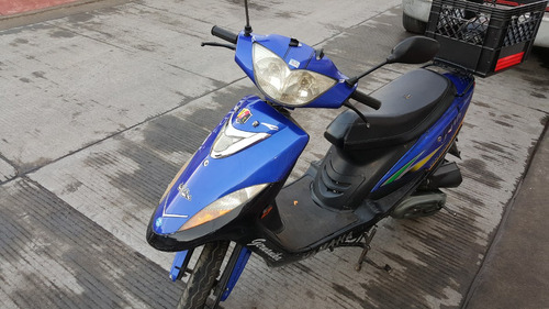 motoneta lifan gk80cc  color azul con negro  2007