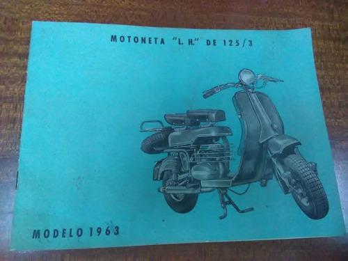 motoneta lujan hermanos 125.