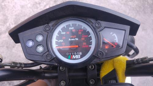 motoneta mb rx 2017 3114km (remate)
