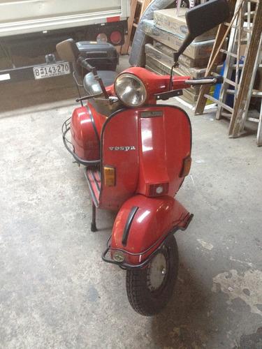 motoneta vespa piaggio p150x 81 italiana 2 dueños impecable