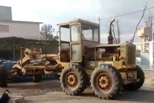 motonivelador caterpillar 120 funcionando envio al pais