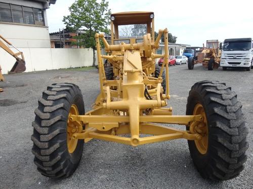 motoniveladora cat 120b - 1978