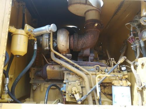 motoniveladora cat 120g usada - motorgrader -