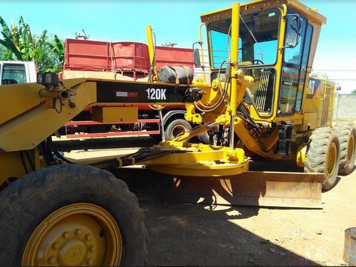 motoniveladora caterpillar 120k ano: 2011